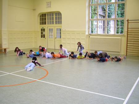 Georg Paul Amberger Schule Nürnberg Ambergerfest 2008 Kinderspiele